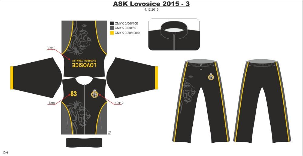 ASK Lovosice LFP tepláková souprava - fanshop