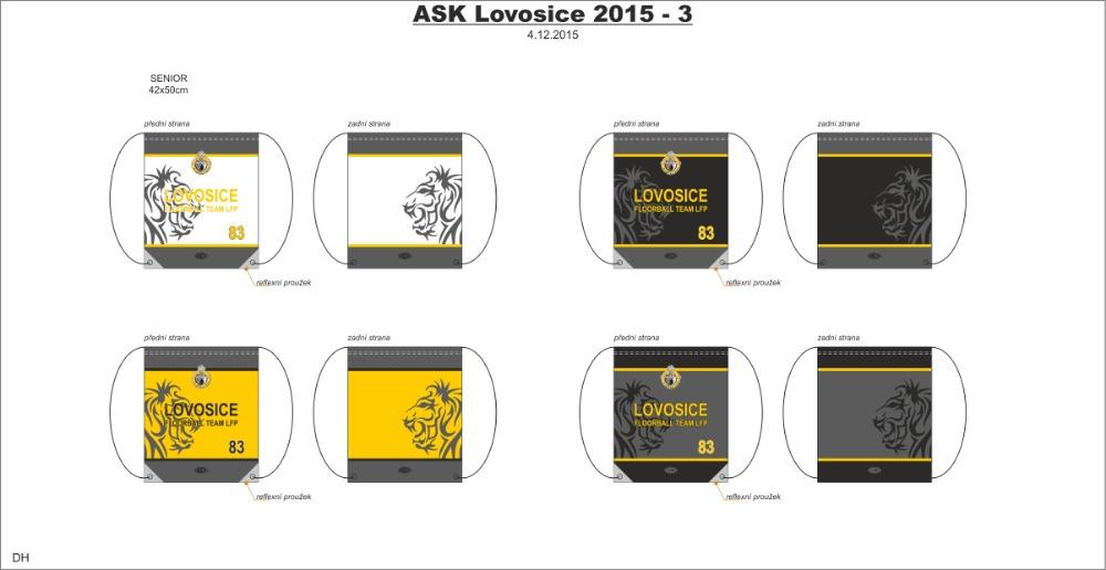 ASK Lovosice LFP vaky - fanshop