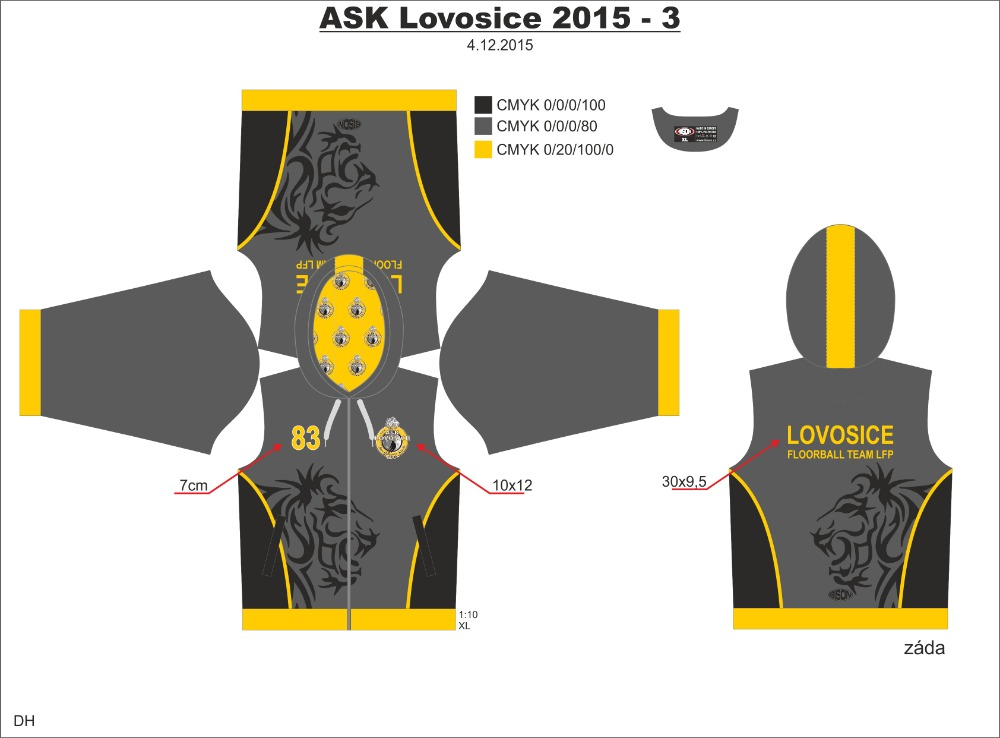 ASK Lovosice LFP mikina - fanshop