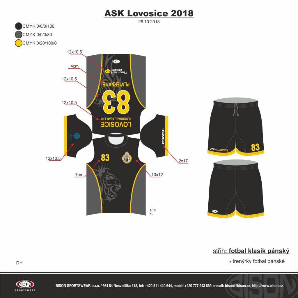 ASK Lovosice LFP dres pánský - fanshop